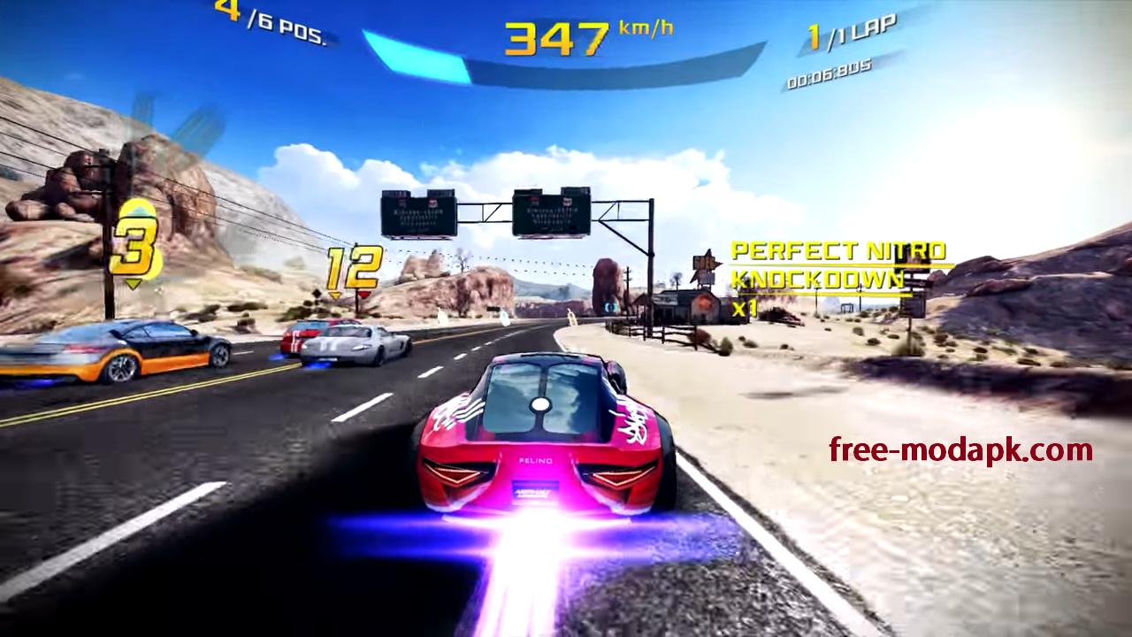 Asphalt 8 Mod Apk Car Racing