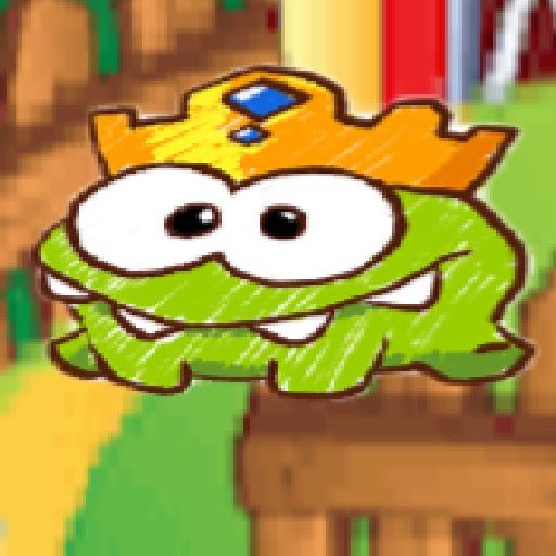 King om nom fruit Mod Apk