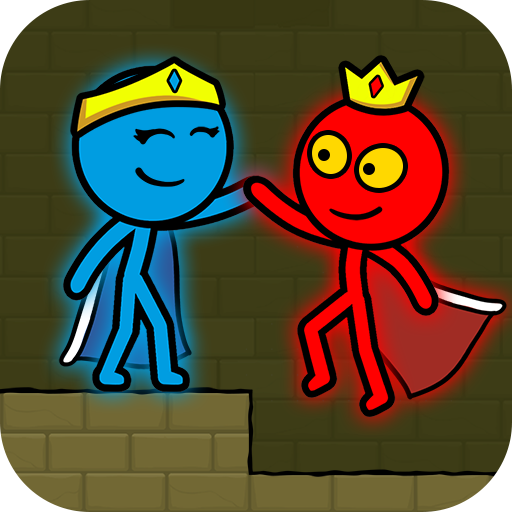 Red and Blue Stickman Mod Apk